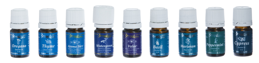 Raindrop Technique Young Living Öle