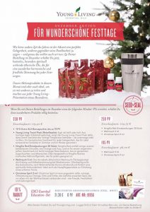 Young Living Dezember 2016 Promo Aktion