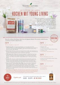 Young Living Aktion April 2017 AromaEase