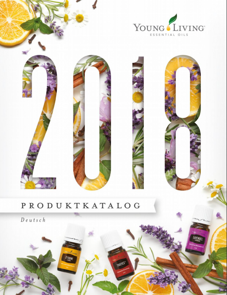 Young Living Produktkatalog 2018